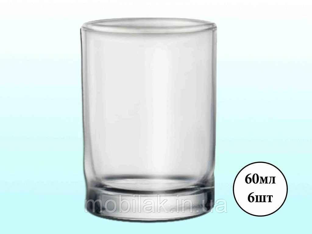 Набір чарок 6шт*58 см³) ISTANBUL 42025 ТМ PASABAHCE