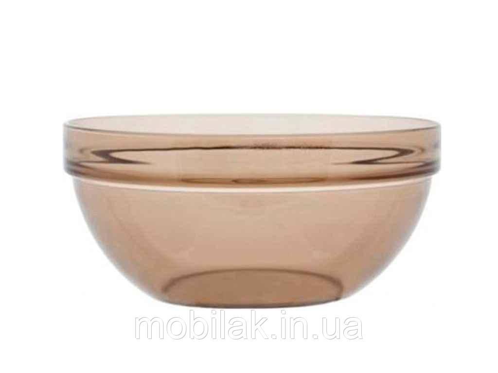 Салатник скляний d=12см димчастий H9991/6194174 ТМ LUMINARC