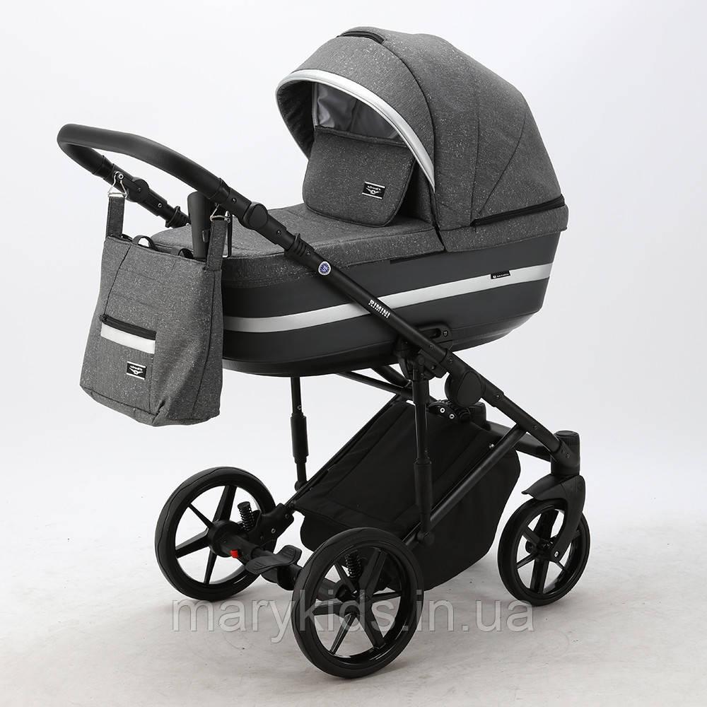 Детская универсальная коляска 2 в 1 Adamex Rimini Lux RI-11