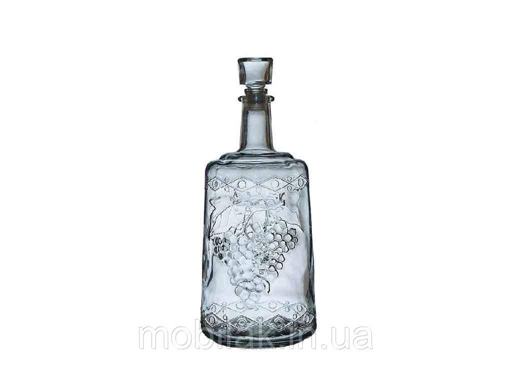 Пляшка скляна зі скл. пробкою 1,5л Традиція арт. 149044
