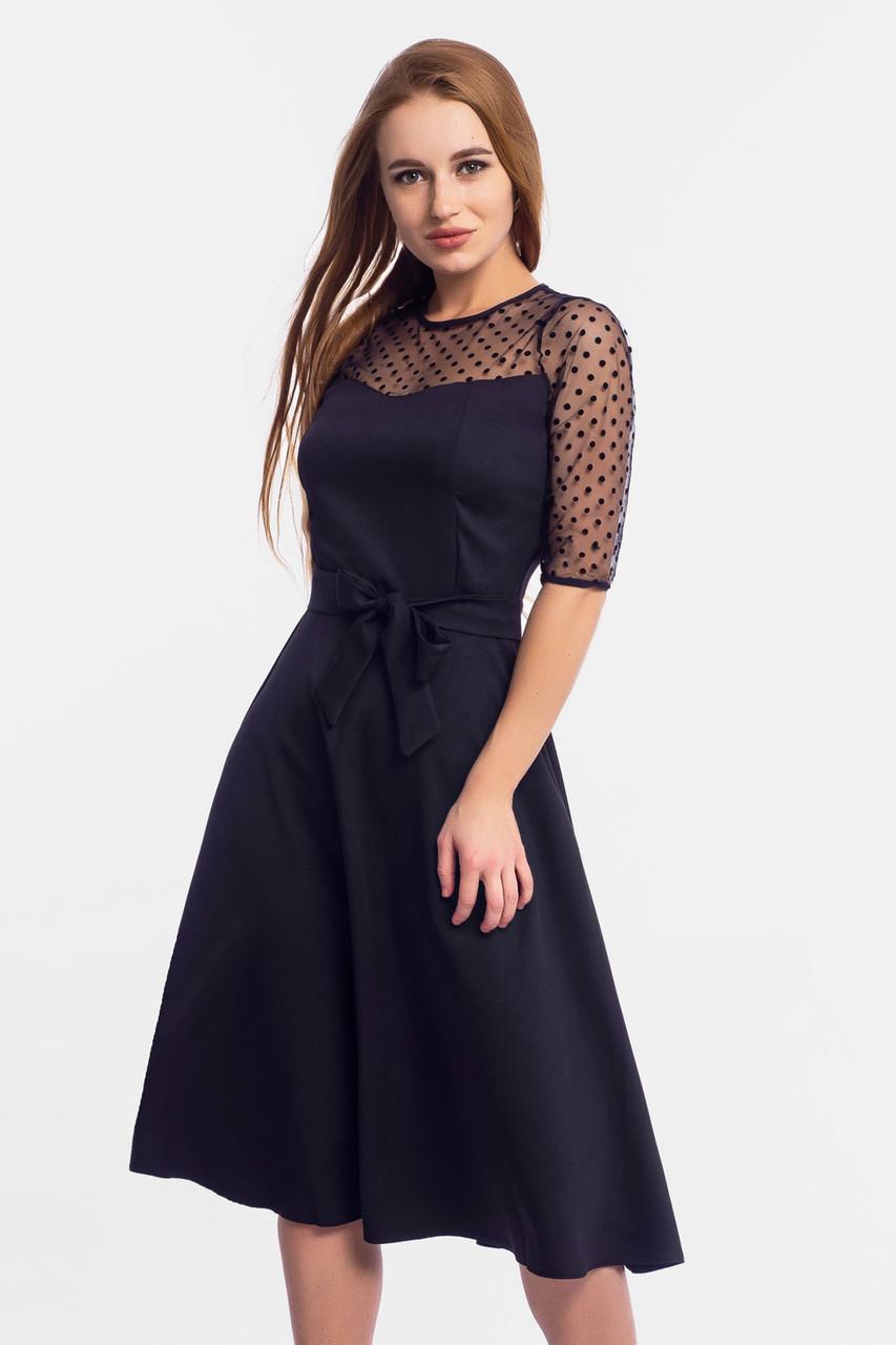 Изысканное женское платье Blade, черный