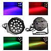 Диско Лазер PAR mini, 18LED, RGB — Лазерный проектор для клубного освещения, фото 2