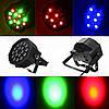 Диско Лазер PAR mini, 18LED, RGB — Лазерный проектор для клубного освещения, фото 4