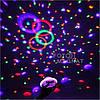 Диско лазер - Лазерний куля, CY-6740 UFO Bluetooth crystal magic ball, 220V, пульт Д/У, фото 6