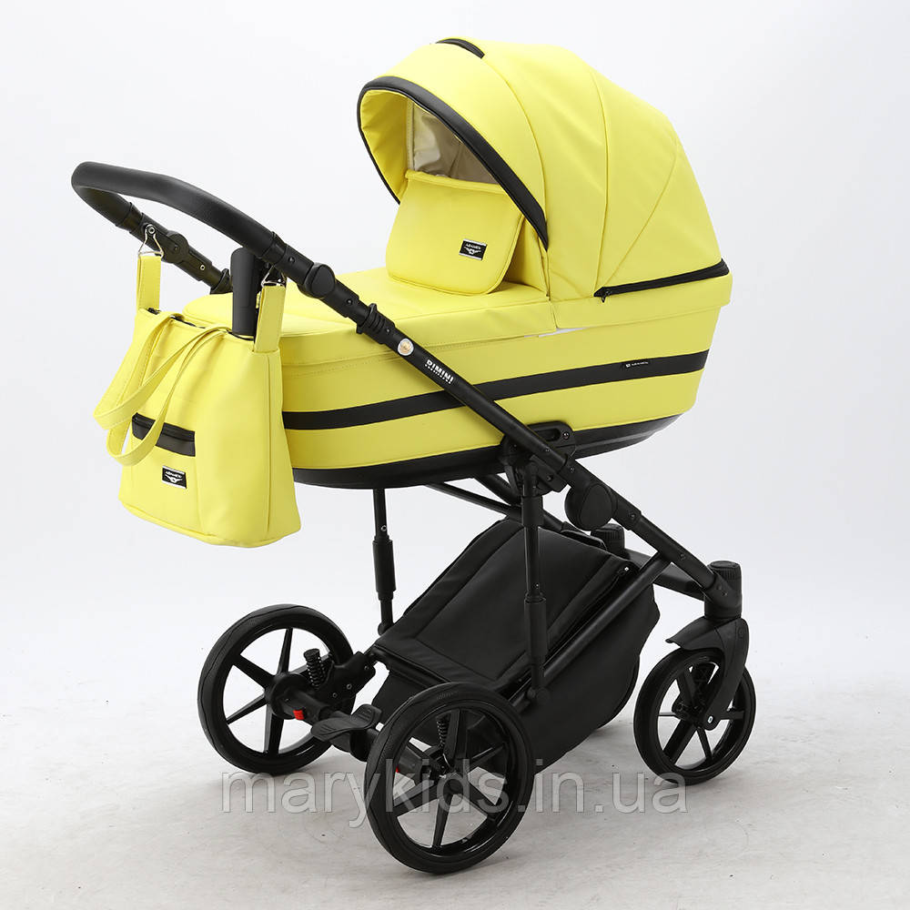 Детская универсальная коляска 2 в 1 Adamex Rimini Eco RI-234