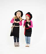 Комплект детский Latte Kids 5-7 лет   Фартук + Колпак, фото 2
