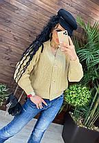 Кофта женская вязанная, фото 2