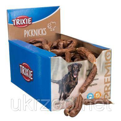 Лакомство для собак Trixie PREMIO Picknicks сосиски 1,6 кг / 200 шт. (ягненок) 2755