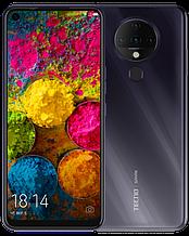 """Смартфон Tecno Spark 6 4/128Gb с большим экраном 6,8"""" с мощной батареей и квадрокамерой черный"""