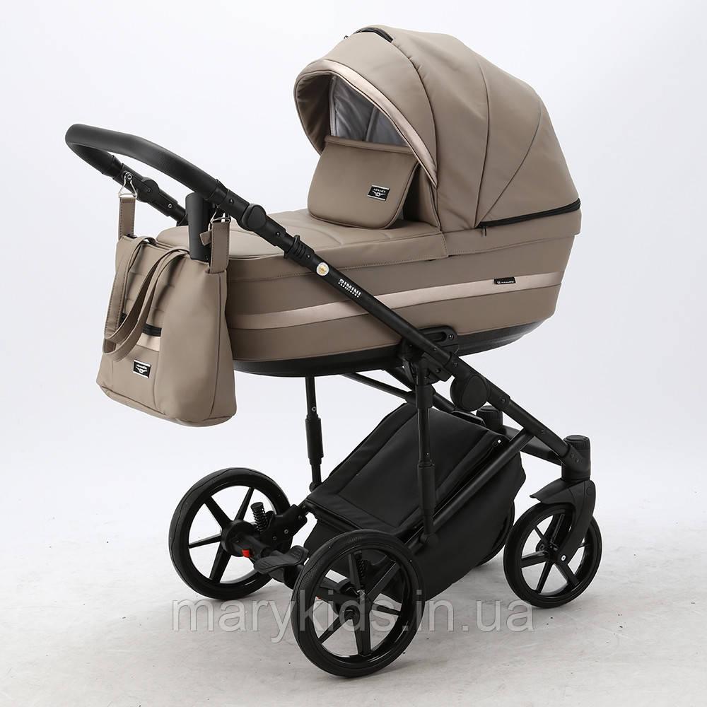 Детская универсальная коляска 2 в 1 Adamex Rimini Eco RI-215