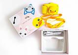 Детский цифровой мини фотоаппарат Cartoon Camera X11 Утенок Желтый Duck 40M, фото 6