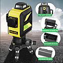 Лазерный уровень FIRECORE F93T-XG 12 линий - Зеленые Лучи + АКБ + Мишень, фото 9