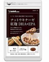 Seedcoms Наттокиназа + DHA + EPA