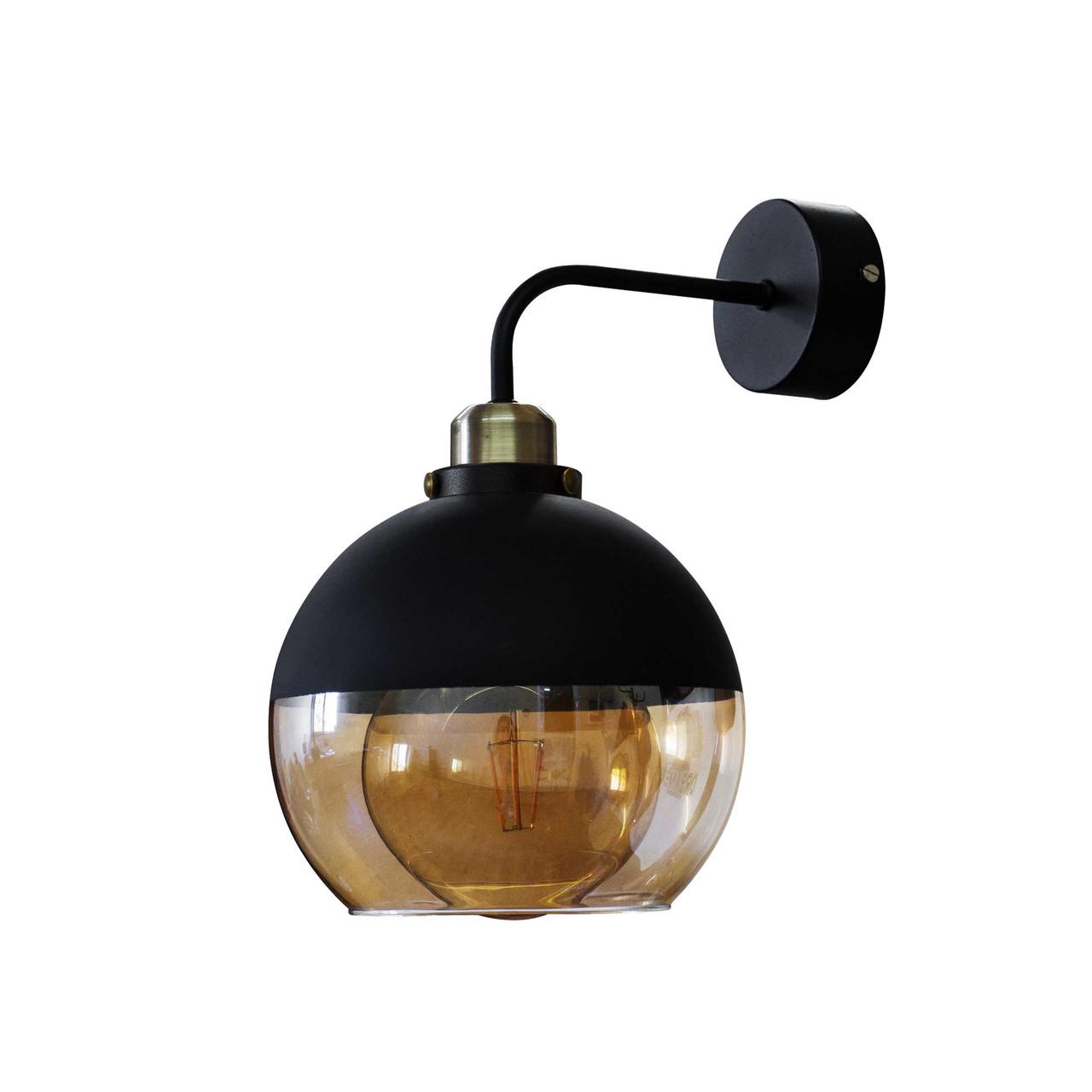 Бра  в стиле лофт  Стеклянный шар  LS 5152-1