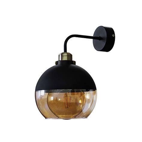 Бра  в стиле лофт  Стеклянный шар  LS 5152-1, фото 2