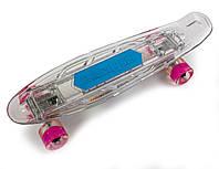 Пенниборд, Музыкальная и светящаяся дека!    Bluetooth/Micro SD, фото 1