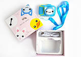 Детский цифровой мини фотоаппарат Cartoon Camera X11 Котик Голубой Kitty 40M, фото 5