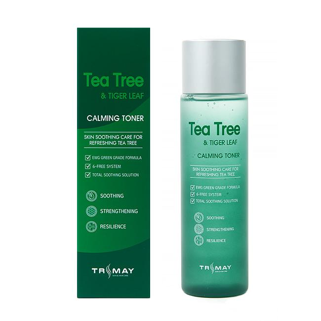 Успокаивающий тонер с чайным деревом и центеллой Trimay Tea Tree & Tiger Leaf Calming Toner 200  мл