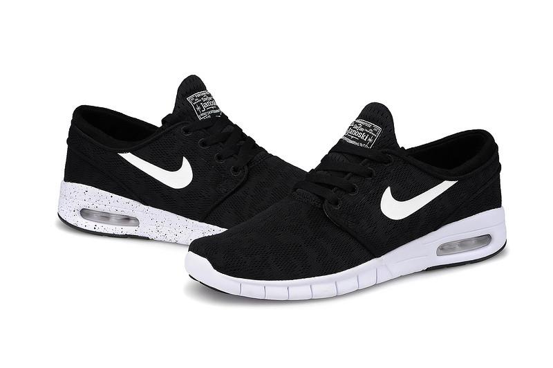 Кроссовки Nike Stefan Janoski Black White мужские