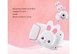 Детский цифровой мини фотоаппарат Cartoon Camera X11 Зайчик Белый 40M Rabbit, фото 4