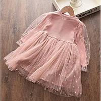 Сукня для дівчинки рожева