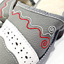 """Кожаные тапочки женские на овчине """"Tylbut"""", фото 2"""