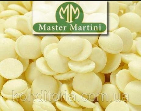 Шоколад белый диски 36/38 Master Martini 1кг (ариба белые диски диски)