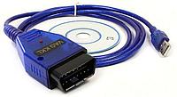 Сканер VAG COM KKL 409.1 USB, фото 1