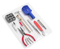 Набір годинного інструменту, для ремонту годинників, заміни батарейок і установки ремінців та браслетів