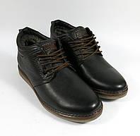 Мужские короткие зимние ботинки
