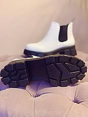 Челси CHELSEA 2020 Женские белые ботинки, фото 2