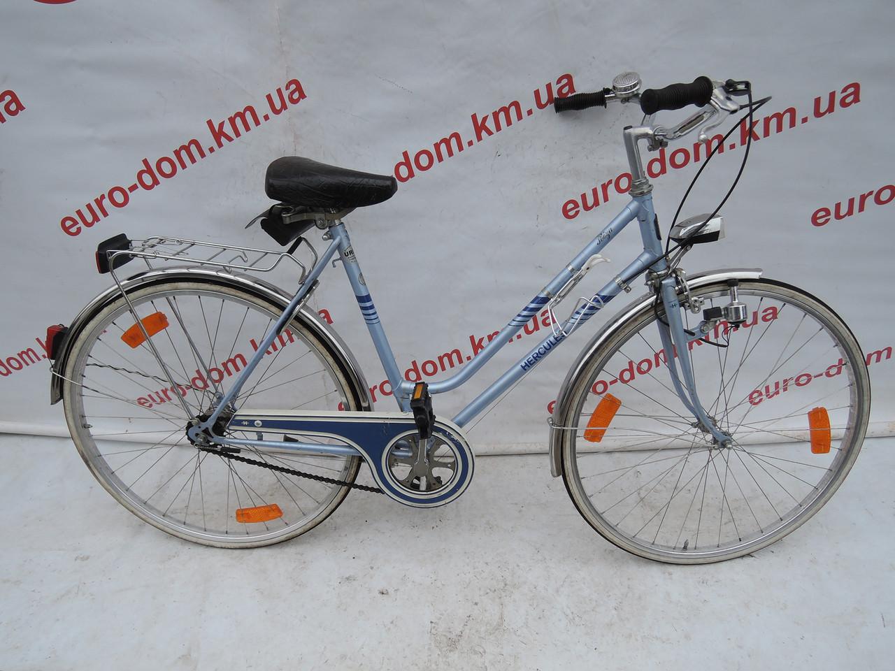 Городской велосипед Hercules 28 колеса 3 скорости на планетарке