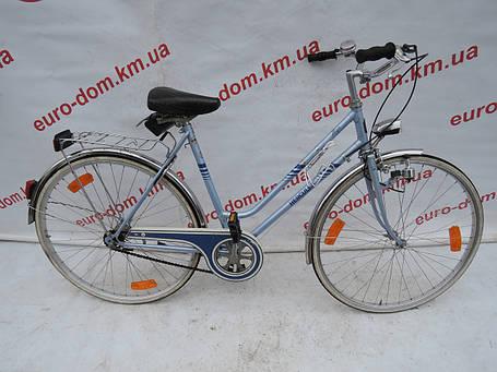 Городской велосипед Hercules 28 колеса 3 скорости на планетарке, фото 2