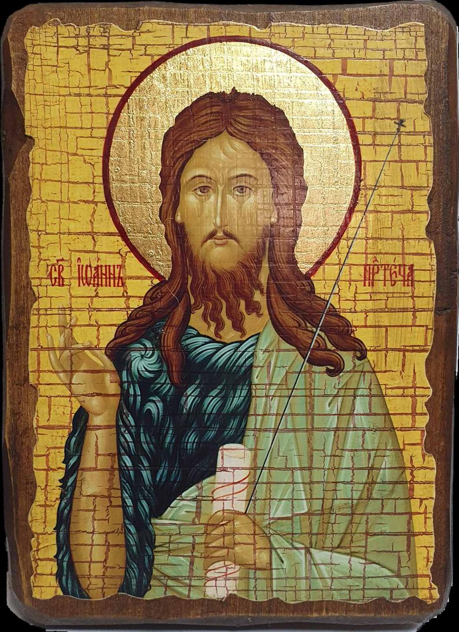 Икона СВЯТОЙ ИОАНН ПРОРОК И КРЕСТИТЕЛЬ ПРЕДТЕЧА