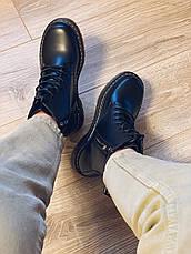 Весенние ботинки в стиле Dr. Martens Доктор Мартинс женские, фото 2