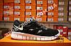 Кроссовки Nike Free Run 2.0 Black White Черные мужские, фото 3
