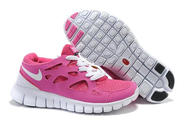 Кроссовки Nike Free Run 2.0 Pink White Розовые женские