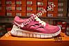 Кроссовки Nike Free Run 2.0 Pink White Розовые женские, фото 3