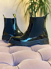 Ботинки лаковые в стиле Челси CHELSEA 2020, фото 3