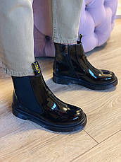Ботинки лаковые в стиле Челси CHELSEA 2020, фото 2