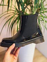 Ботинки лаковые в стиле Челси CHELSEA 2020