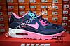 Кроссовки Nike Air Max 90 Blue Pink Розовые женские, фото 4