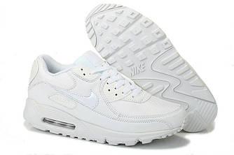 Кроссовки Nike Air Max 90 White Белые женские
