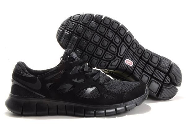 Кроссовки Nike Free Run 2.0 Black Черные мужские