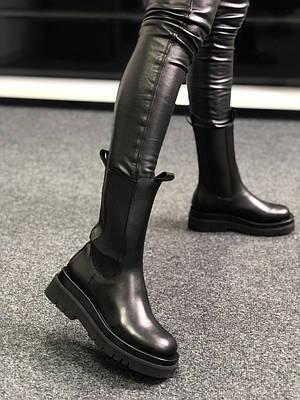 Bottega Veneta Lug Boots Fur (мех)