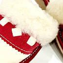 """Кожаные тапочки женские на овчине """"Tylbut"""", фото 3"""