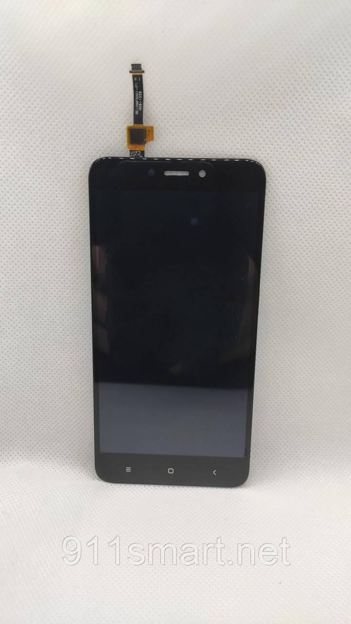 Экран, дисплей, модуль Xiaomi Redmi 4X чёрный
