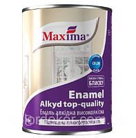 Эмаль алкидная высококачественная по металлу и дереву Maxima (бирюзовый) 0,7 кг, фото 1