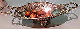 Шикарная посеребренная ваза, винтаж, Франция, фото 6