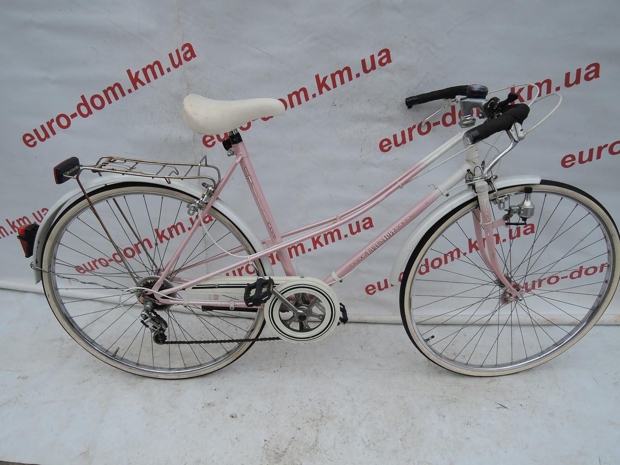 Городской велосипед Triumph 28 колеса 6 скоростей